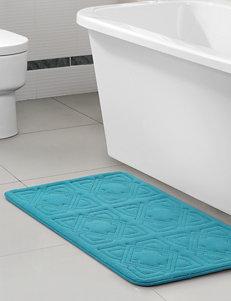 Victoria Classics Teal Bath Rugs & Mats