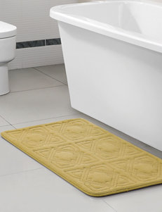 Victoria Classics Yellow Bath Rugs & Mats