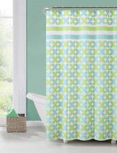 Victoria Classics Pinwheel Shower Curtain