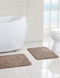 Victoria Classics Chocolate Bath Rugs & Mats