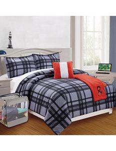 Compass Red / Grey Comforters & Comforter Sets