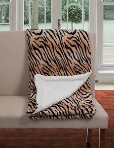 Lavish Home Tiger Blankets & Throws