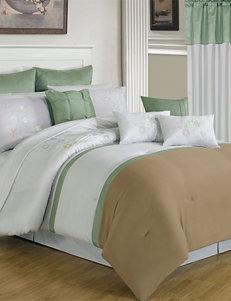 Lavish Home Brown / Green Comforters & Comforter Sets