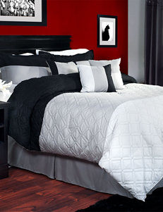 Lavish Home Black/ White Comforters & Comforter Sets