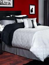 Lavish Home 7-pc. Emma Comforter Set