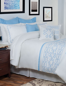 Lavish Home Isabella Oversized Embroidered Comforter Set
