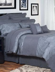 Lavish Home Ellie Oversized Embroidered Comforter Set