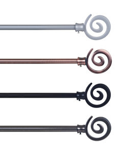 Lavish Home Bronze Curtain Rods & Hardware