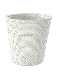Lamont Home White Wastebaskets Bath Accessories