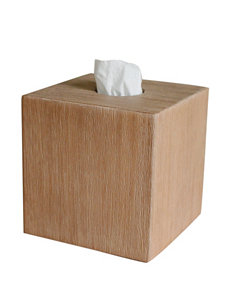 Lamont Home Natural Tissue Box Covers Bath Accessories
