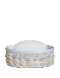 Lamont Home White Soap Dishes Bath Accessories