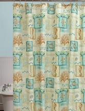 Bacova Guild Chevron Beach Shower curtain