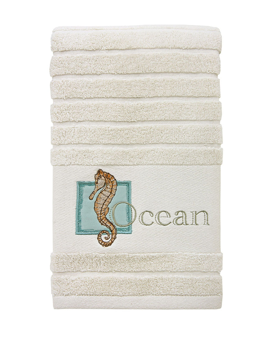 Bacova Guild Cream Hand Towels Towels
