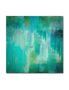 Trademark Fine Art Turquoise Wall Art Wall Decor