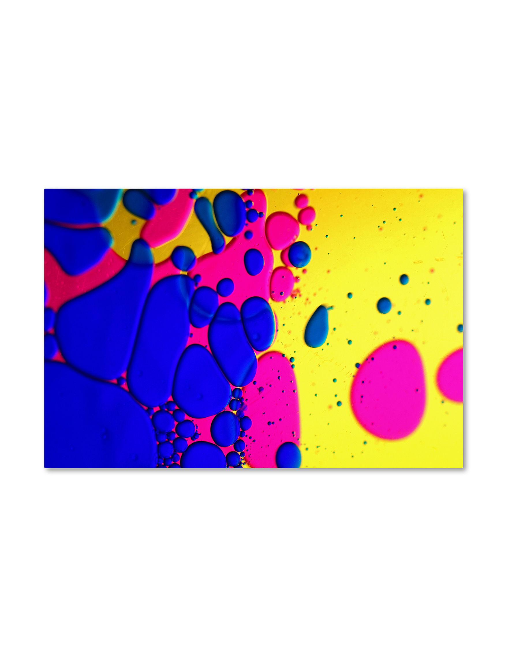 Trademark Fine Art Pink Wall Art Wall Decor