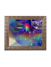 Trademark Fine Art Rainbow Logistics VI Ornate Framed Art