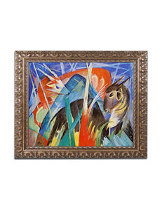 Trademark Fine Art Fairy Animal 1913 Ornate Framed Art