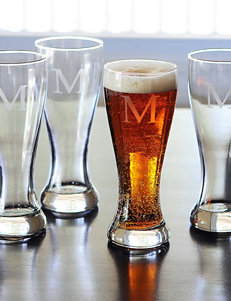 Cathy's Concepts 4-pc. Personalized Pilsner's Glass Set