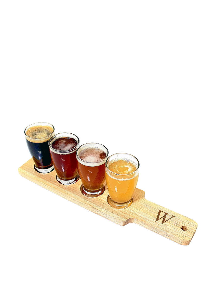 Cathy's Concepts Clear Beer Glasses Drinkware Sets Monogram