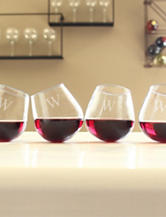 Cathy's Concepts 4-pc. Personalized Tipsy Wine Glass Set