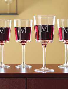 Cathy's Concepts Personalized Contemporary Wine Glasses
