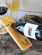 Cathy's Concepts Personalized Counter Balance Wine Bottle Holder