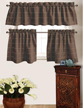Park B. Smith 2-pc. Durham Square Woodland Chambray Cafe Curtains