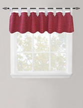 Park B. Smith Picnic Check Red Valance