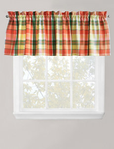 Park B. Smith Plaid Delight Tangelo Valance