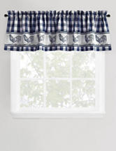 Park B. Smith Provencial Rooster Navy Valance