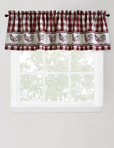Park B. Smith Provencial Rooster Paprika Valance