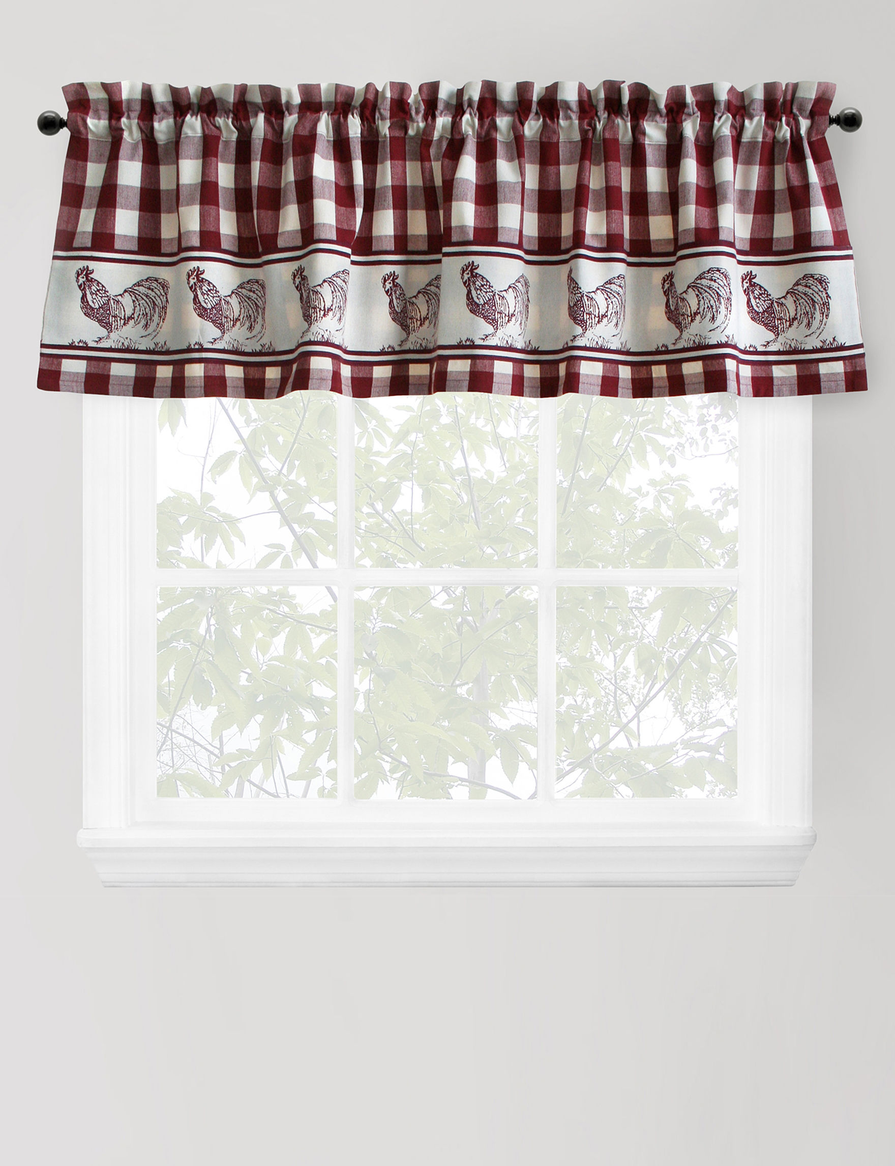 Rooster Curtains Valances Saturday Knight Waverly Lattice Curtains Waverly Curtains Drapes And