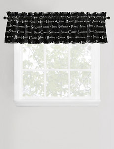 Vintage House by Park B. Smith Winery Tours Black & White Valance