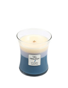 Woodwick Blue Candles & Candle Holders Home Accents