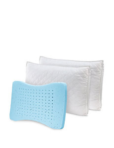 Sensorpedic White Bed Pillows