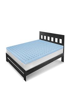 Sensorpedic Blue Mattresses Mattress Pads & Toppers