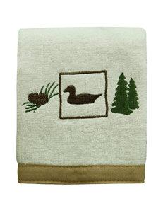 Bacova Guild Vintage Outdoors Fingertip Towel