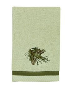 Bacova Guild Pine Cone Silhouettes Fingertip Towel