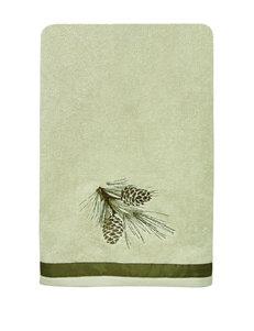 Bacova Guild Pine Cone Silhouettes Bath Towel