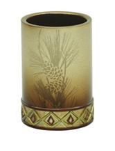 Bacova Guild Pine Cone Silhouettes Tumbler