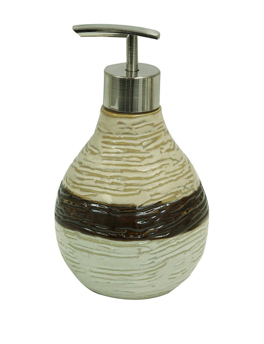 Bacova Guild Ivory Soap & Lotion Dispensers Bath Accessories