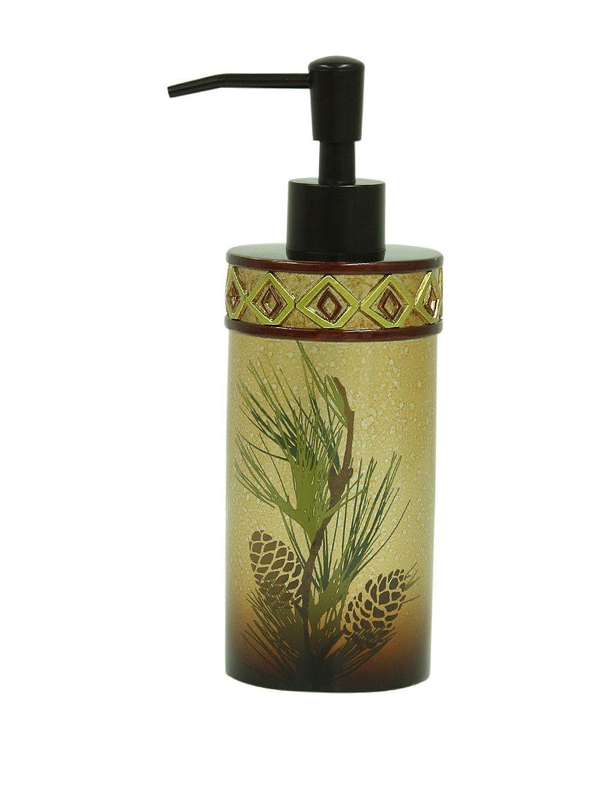 Bacova Guild Gold Soap & Lotion Dispensers Bath Accessories