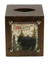 Bacova Guild Vintage Outdoor Tissue Cube