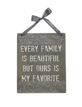 Fetco Every Family Wall Plaque