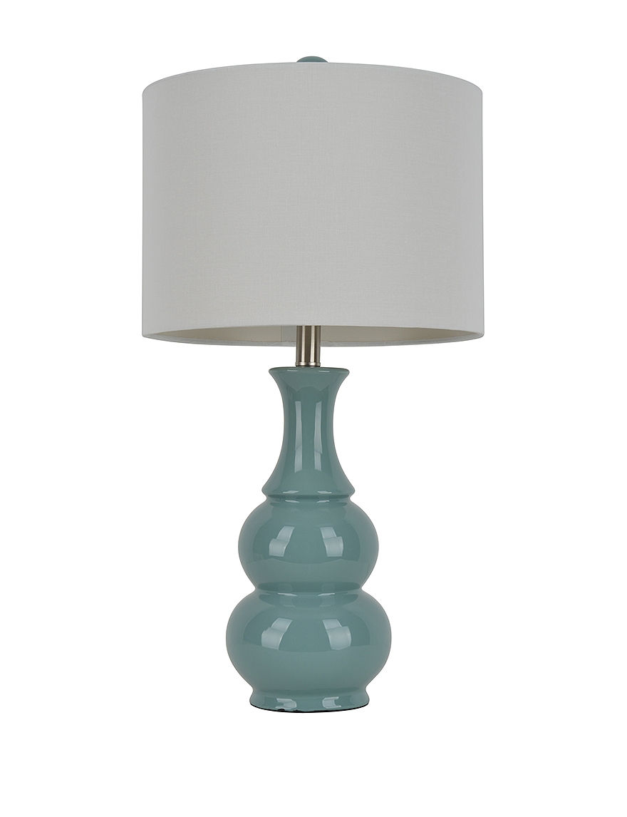 Decor Therapy Light Green Table Lamp