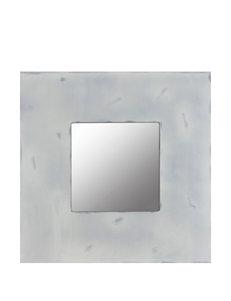 Decor Therapy Distressed Grey Box Mirror