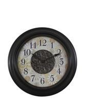Decor Therapy  Contemporary Floral Clock