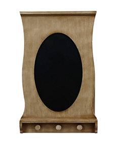 Decor Therapy Wall Hanger with Blackboard