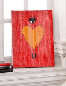 Holly & Martin Eye Heart U Swoon Wall Panel