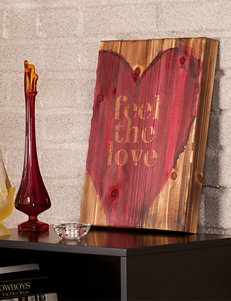 Holly & Martin Feel The Love Swoon Wall Panel